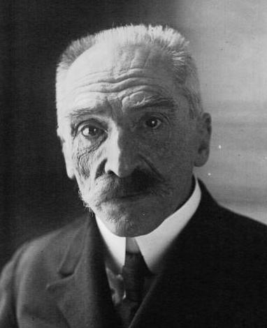"""Portrait d'Édouard Estaunié en 1922. Agence de presse Meurisse""""- Bibliothèque nationale de France"""